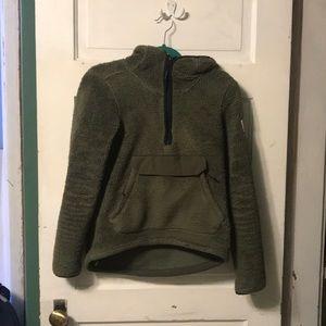 Women's pullover fleece hoodie
